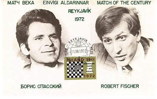 La confrontation Spassky Vs Fischer en Island 1972