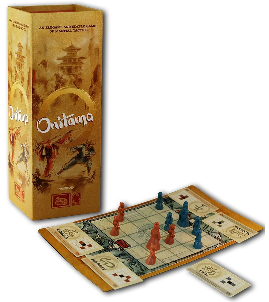 Onitama boîte de jeu