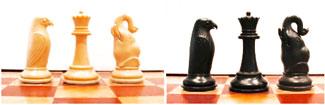 Pièces d'Echecs Seirawan : L'Eléphant et l'Aigle