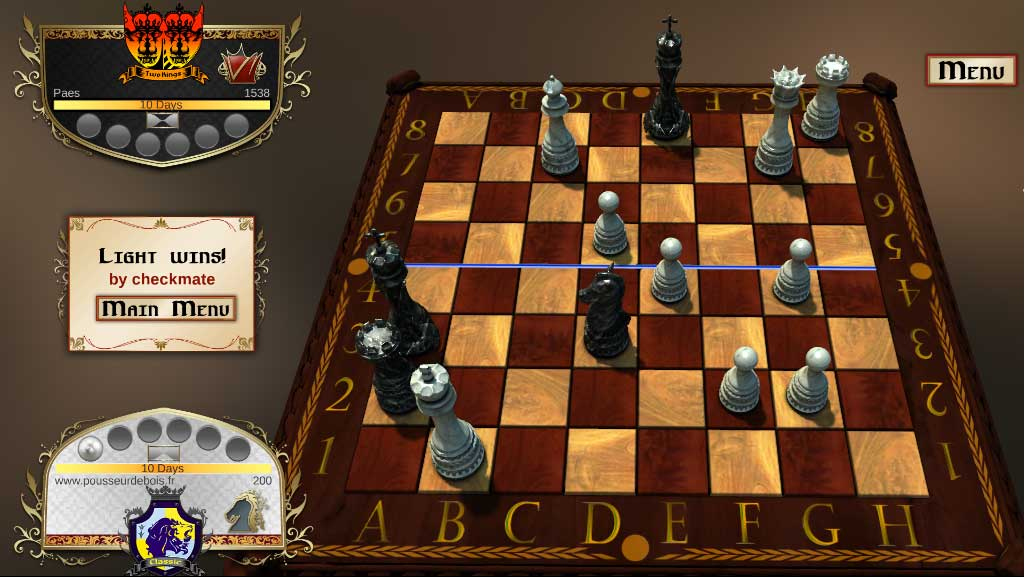 Chess 2: The Sequel : checkmate