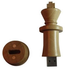 Clé USB pièce d'échecs (Roi)