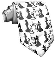 cravate échecs (chess tie)
