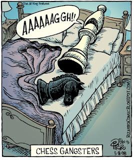 Jeu d'échecs : Tête de cheval dans un lit - The Godfather (le parrain)