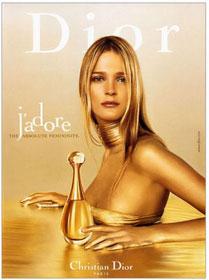 Carmen Kass, Dior ; j'adore !