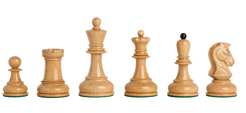 """Dubrovnik Chess Pieces : 3.75"""" King"""