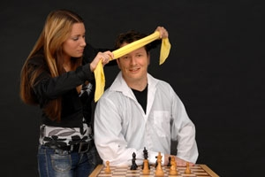 Marc Lang blind chess
