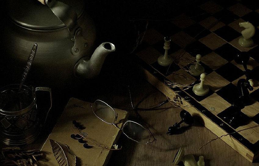 Nikolai Yakovlevich Belyaev Nature morte (jeu d'échecs)