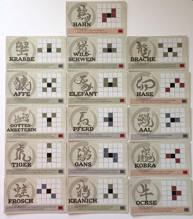 Onitama cartes en français