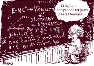 Albert Einstein bande dessinée humour humoristique