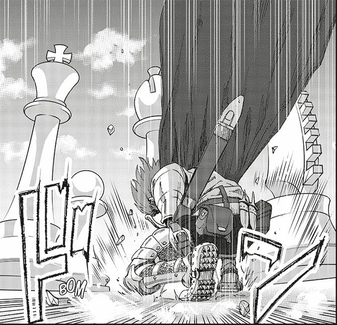 Blitz manga échecs
