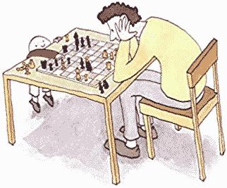 Calculer une position aux échecs