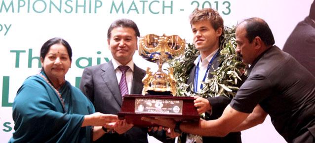Champion du Monde d'échecs 2013