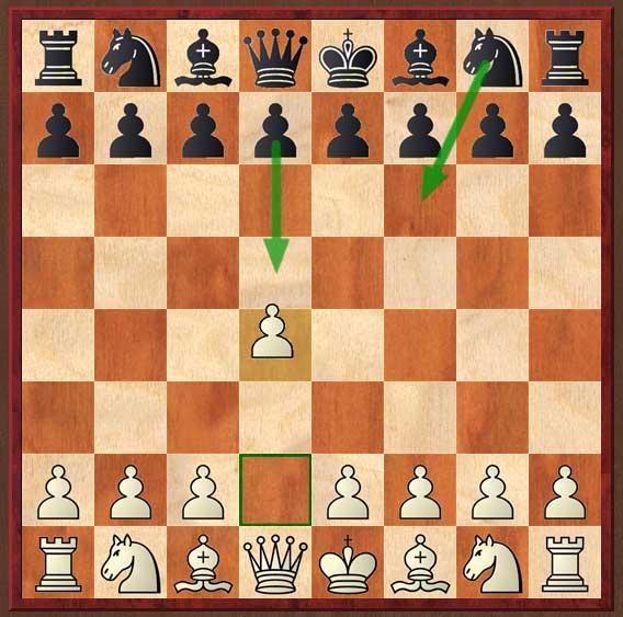 Chessbase : Heumas. Flèches qui apparaissent toutes seules.