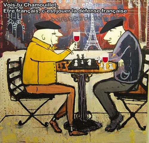 La défense française aux échecs