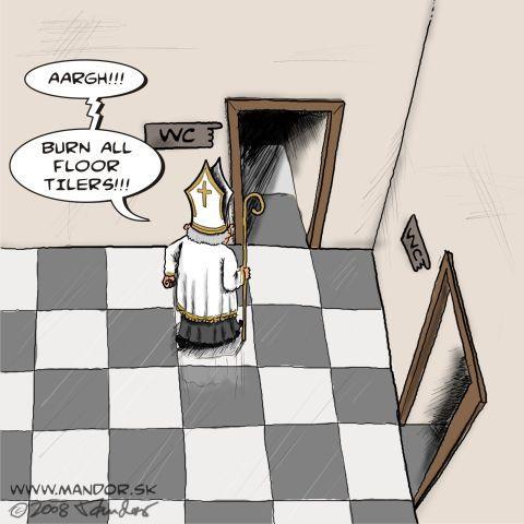Un problème d'échecs fou