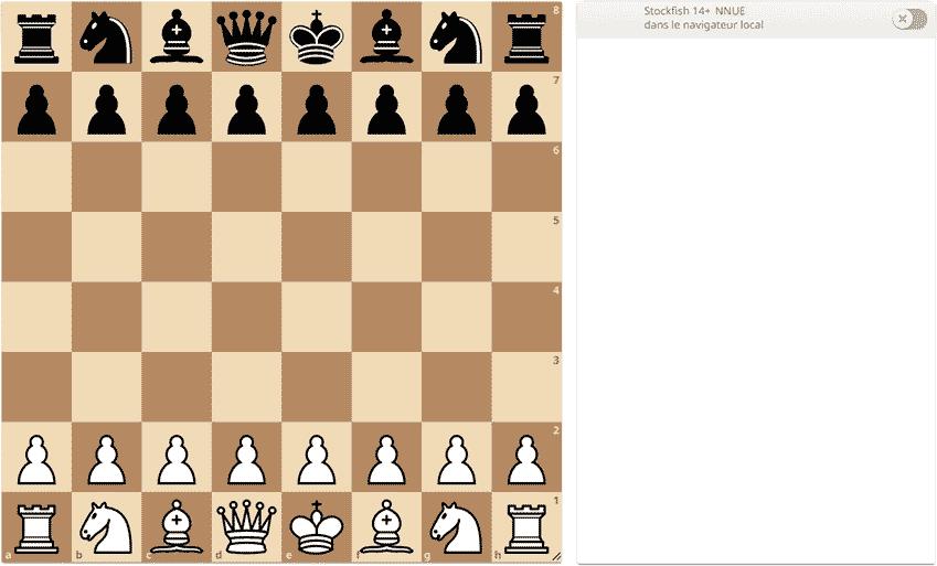 Jouer aux échecs à 2 sur un même écran