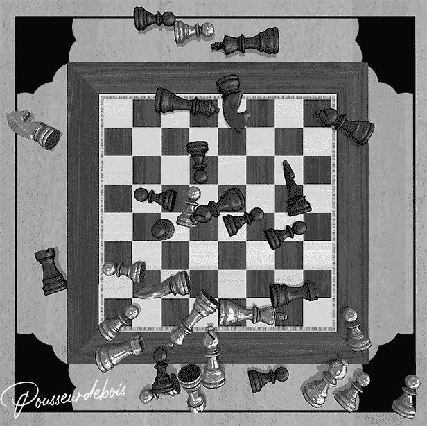 Tabletop Simulator : jeu d'échecs
