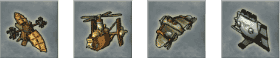 greed corp aeronef (avions) représentés par de petites hélices