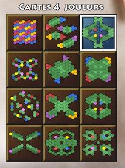 greedcorp cartes 4 joueurs
