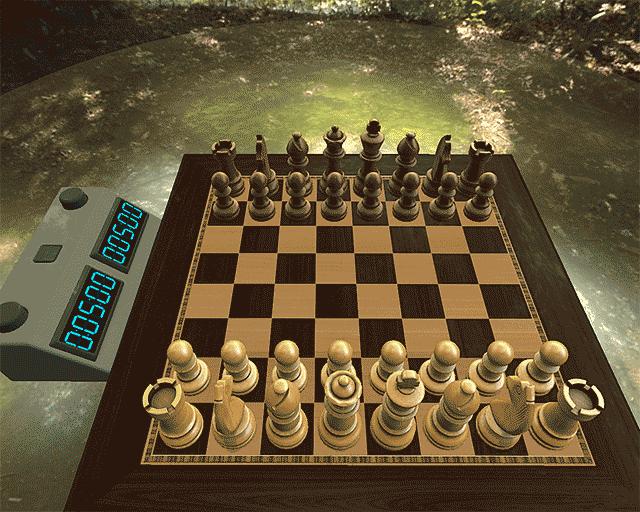 Jeu d'échecs en 3d