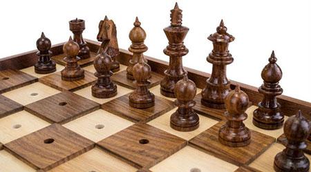 Jeu d'échecs en braille