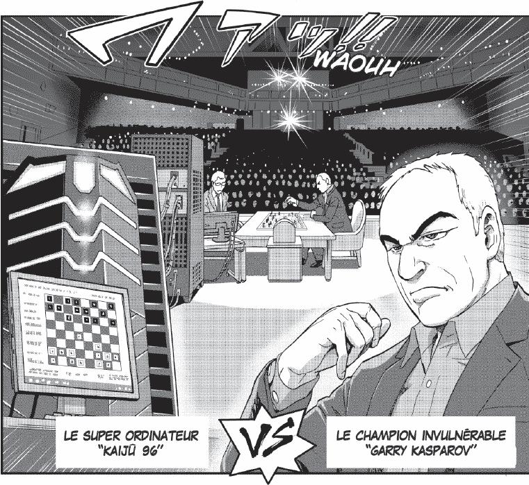 kaiju 96 vs Garry Kasparov