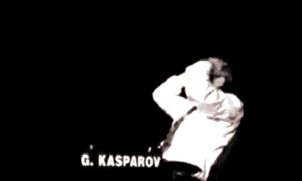 kasparov blunder chess. Kasparov commet une erreur contre Anand, fait les gros yeux se prend la tête dans les mains en se jetant sur le dossier de sa chaise. Kasparov est énervé