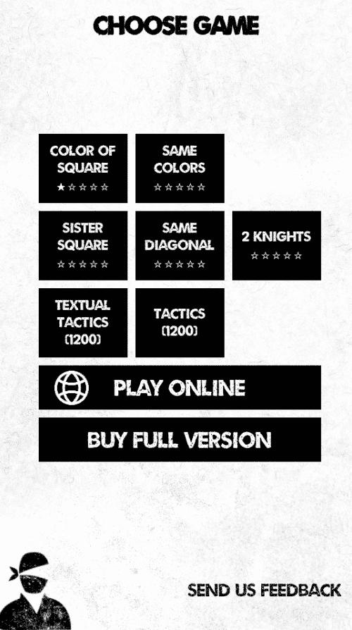Noir Chess : 7 modes de jeu