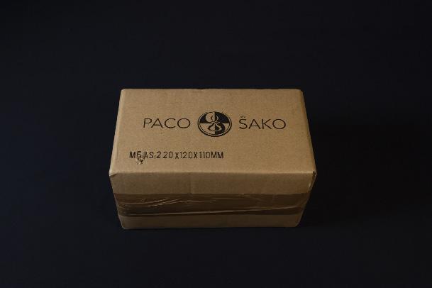 Paco Sako emballage