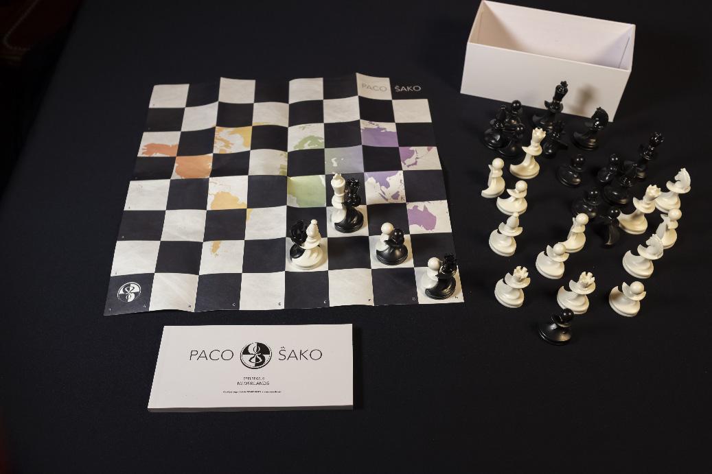 Paco Sako les échecs de la paix