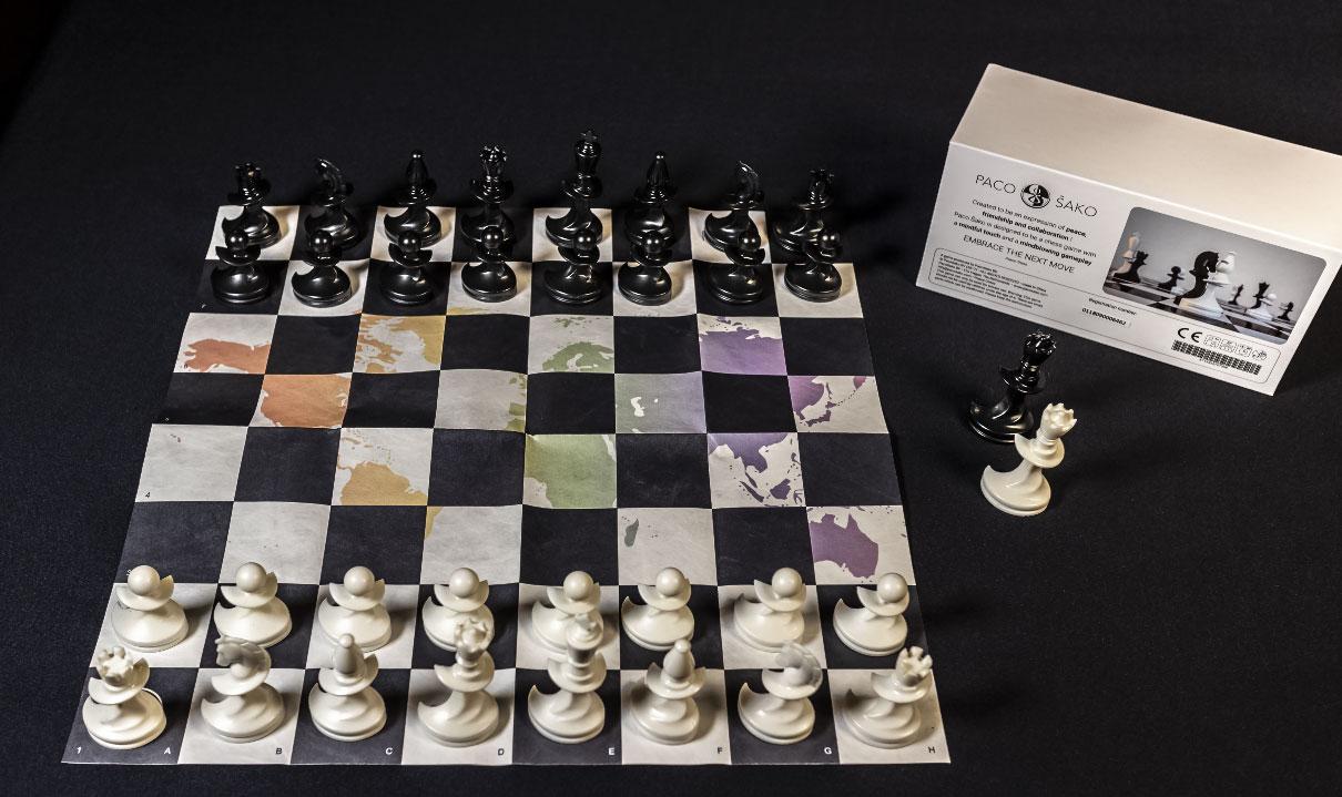 Jeu d'échecs artistique