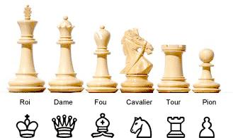 pieces d'échecs