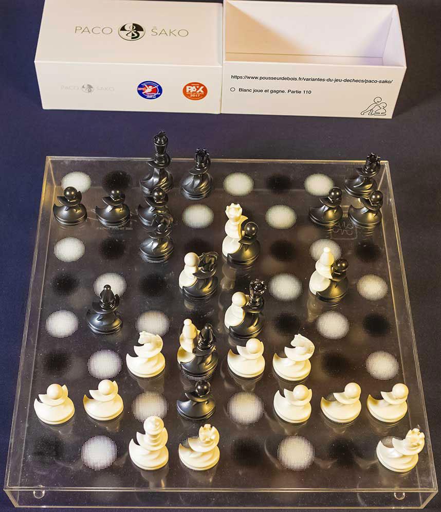 puzzle 110 échiquier Karim Rashid