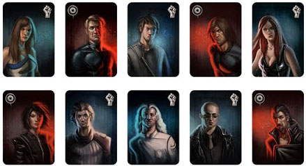Resistance 10 personnages