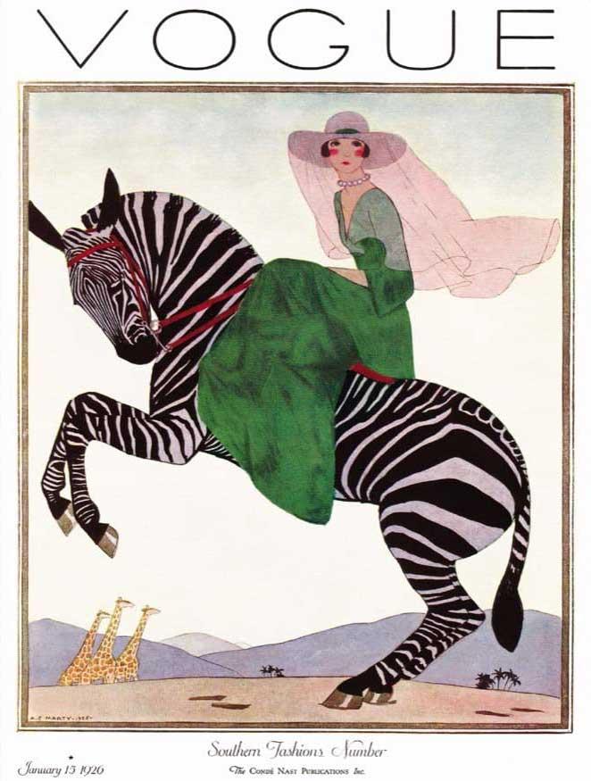 Vogue : Zebra